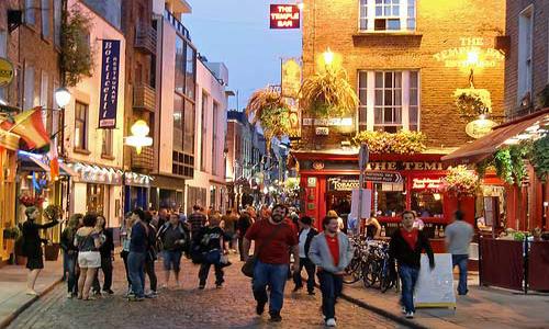 Pub Crawl en Irlanda