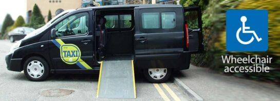 Taxis en Irlanda para Discapacitados