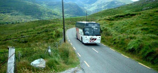Viajar en autobús por Irlanda