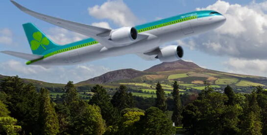Volar en Irlanda